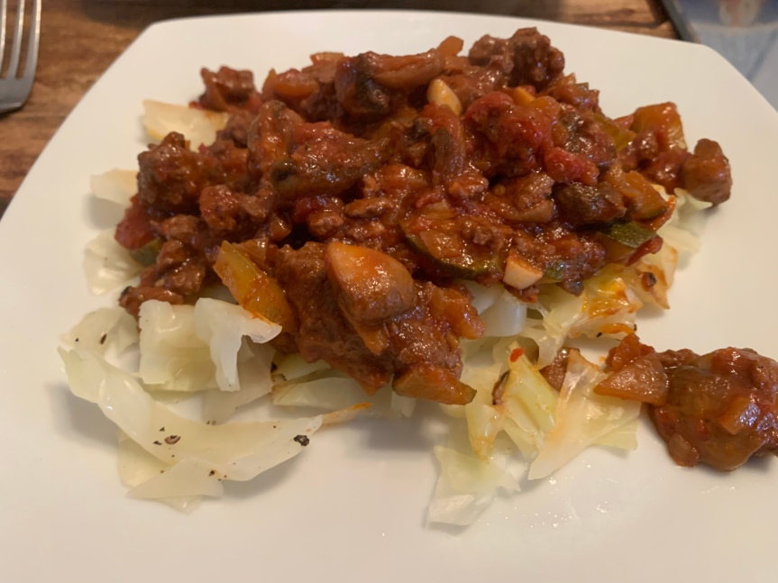 Rich and Meaty bolognese